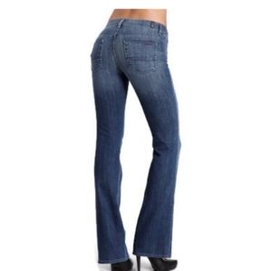 7 for all mankind hight waisted bootcut jeans 26